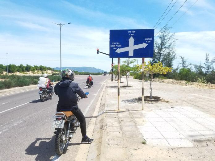 Lịch trình phượt xe máy đến kỳ co quy nhơn