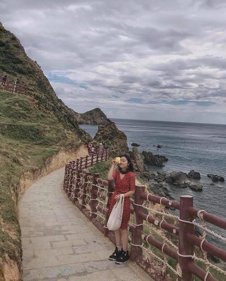 Hành trình du lịch Quy Nhơn siêu thú vị của cô bạn trẻ