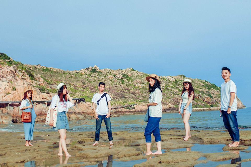 Điều tuyệt vời nhất là cùng nhóm bạn du lịch Quy Nhơn